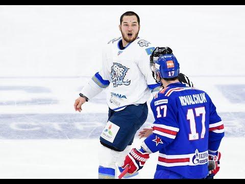 Damir Ryspayev 2014-2016 KHL action