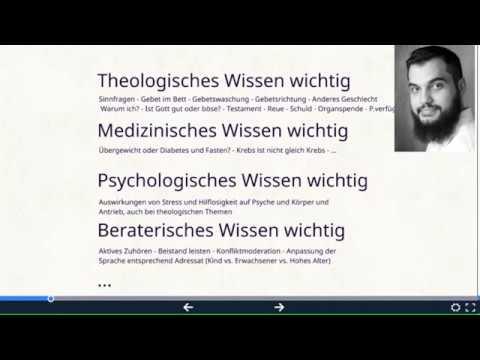 M.Sc. Psychologe Amin Loucif - Islam und Psychologie. Krankenhaus-Seelsorge Imamweiterbildung