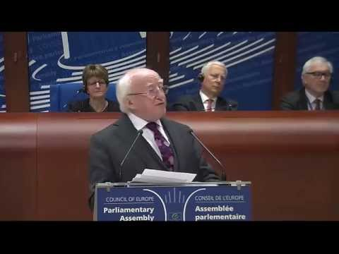 Address by President Michael D. Higgins to the Parliamentary Assembly of the Council of Europe