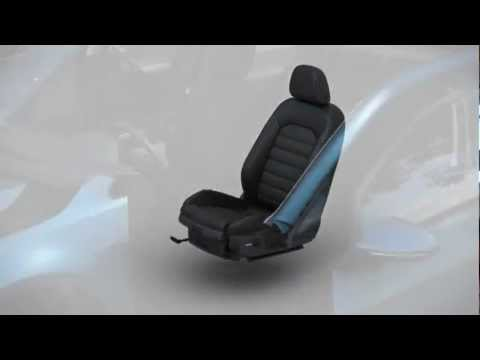 Vw Golf 7 Animation Ergoactive Sitz 2013 Youtube