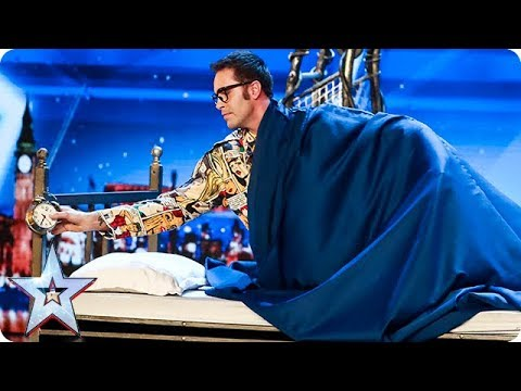 Prepare to be SPELLBOUND by Magus Utopia | Auditions | BGT 2018