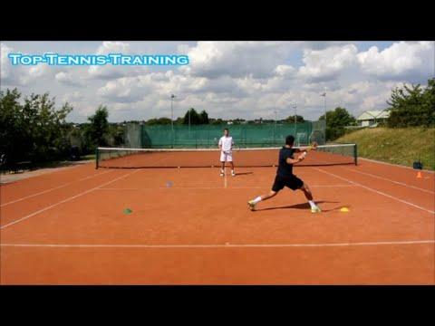Tennis Footwork Reaction Drill