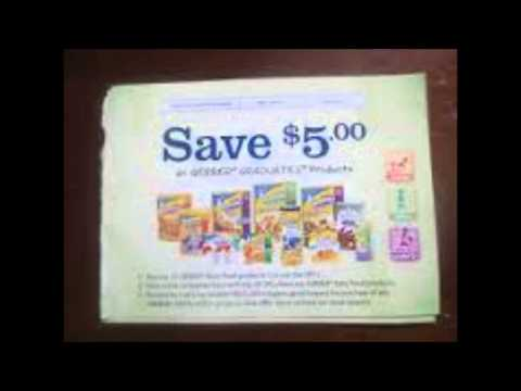 Get manufacturer coupons sent your home