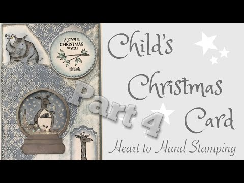 Child's Christmas Card - Part 4 - Stampin' Up!