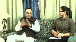 Subramanian Swamy talking about Kasmir problem (हिंदी)