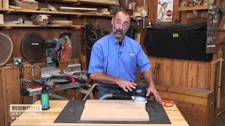 Woodworking Tools: Power Tools - Using a Random Orbit Sander