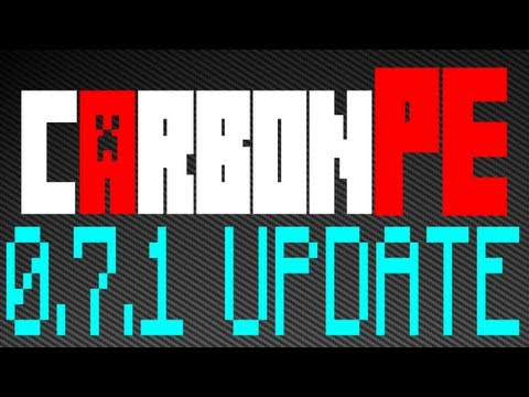 Minecraft - 0.7.1 CarbonPE Hacked Client Update + Beta Update! - WiZARD HAX
