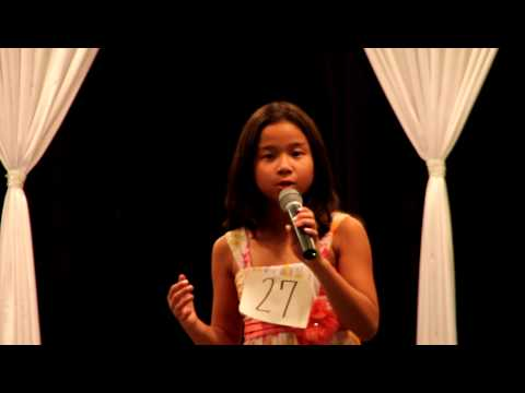 Ben (Michael Jackson 5 Cover) sung by 8 year old Dominique at the Wilson County Fair TN 08-13-2010