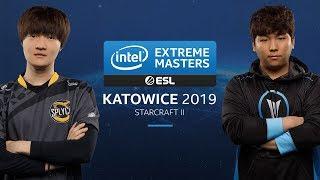 SC2 - Stats[P] vs. Dark [Z] - Semifinal - IEM Katowice 2019