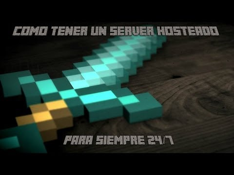 Como tener un server de minecraft Gratis hosteado 24 7 de por vida RichterGamerMC