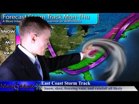 Major Northeast Winter Storm Thanksgiving Week : November 24, 2013