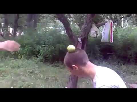 Фокус с яблоком Юмор! Прикол! Смех