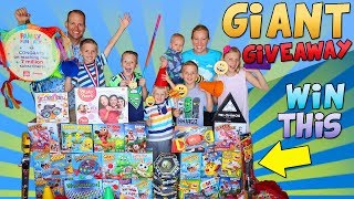 7 Million Subscriber Family Party & HUGE INTERNATIONAL GIVEAWAY!!