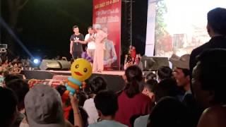 Hài Hoài Linh và Long Trẹp Trai tại Hội Chợ Triển Lãm Sản Phẩm Núi Ấn Sông Trà Quảng Ngãi 2019