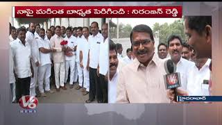 I Am Happy Over KCR Oath Taking Ceremony As TS CM : Niranjan Reddy Face To Face  - netivaarthalu.com