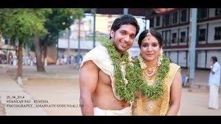SHANKAR RAJ RESHMA WEDDING HIGHLIGHTS BY Amarnath kodungallur