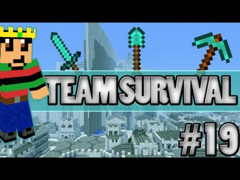 Minecraft - Team Survival #19 Entropia Invasie!