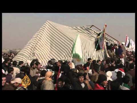Iraq's Sunnis protest Shia-led regime