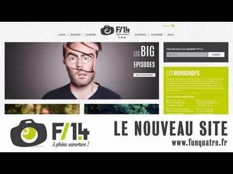 CONCOURS - Le nouveau site internet F/1.4 - Présentation