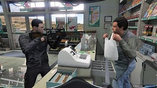 GTA V - THIEVES IN THE FIRST PERSON!