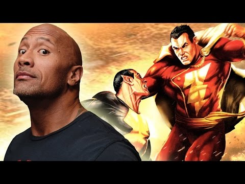 Shazam or Black Adam: Who should Dwayne Johnson Play?