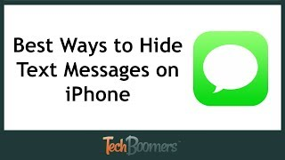 Best Ways to Hide Text Messages on iPhone