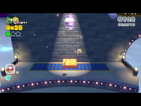 Super Mario 3D World: 2P Co-Op! - Boomerang Blitz PART 11 (Nintendo Wii U HD Gameplay Walkthrough)