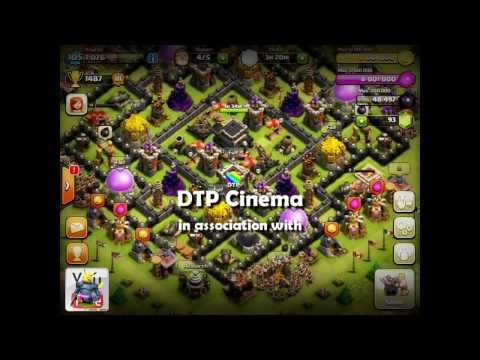 Clash of Clans [Tutorial] Town Hall 9 Design Guide - Pingfao's Grand Tesla Theme Park