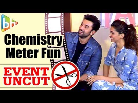 Ranbir Kapoor - Deepika Padukone Launch Chemistry Meter | Tamasha | Event Uncut