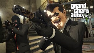 BIGGEST BANK ROBBERY!!  (GTA 5 Online Heists)