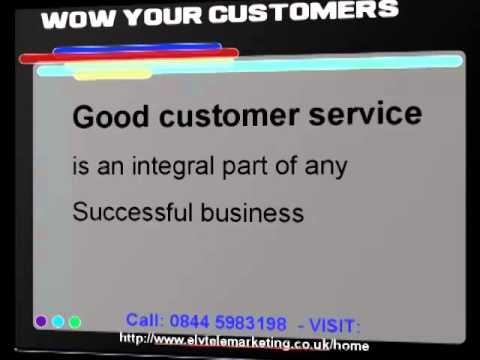Customer service: Putting the WOW back into Customer service