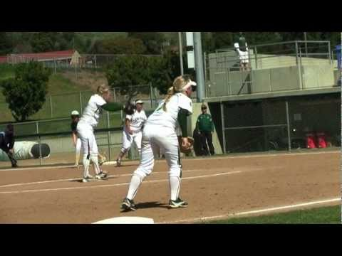 Cal Poly Softball versus Sacramento State Highlight Video (March 10, 2013)
