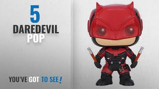 Top 10 Daredevil Pop [2018]: Funko Pop Marvel: Daredevil TV-Daredevil Red Suit Action Figure
