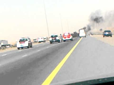 UAE ACCIDENT DUBAI TO RAS AL KHAIMAH(EMIRATES ROAD)