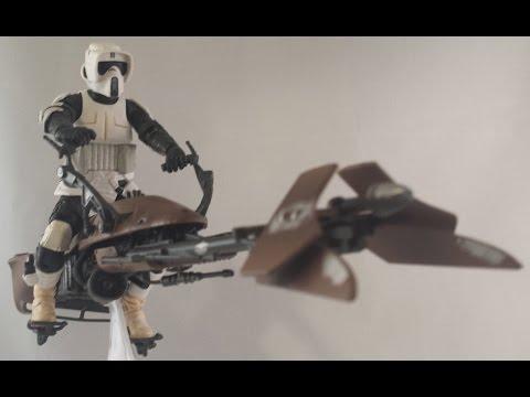 Star Wars Black Series 6 Inch Biker Scout Review