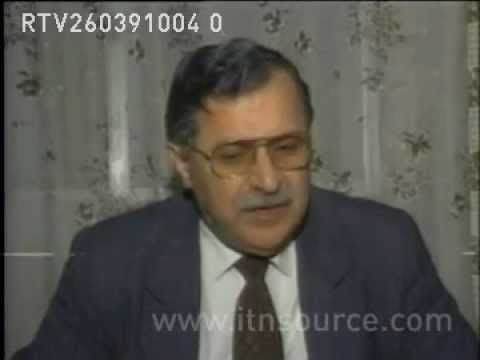 SYRIA  LEADER OF PATRIOTIC UNION OF KURDISTAN, JAL   Archive Footage   ITN Source