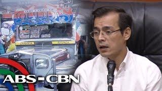 Rutang Baclaran-Divisoria ng mga jeep pinasususpende ni Isko | TV Patrol