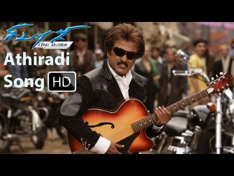 Athiradi Song Sivaji The Boss Hd 1080p - Rajini,shriya video