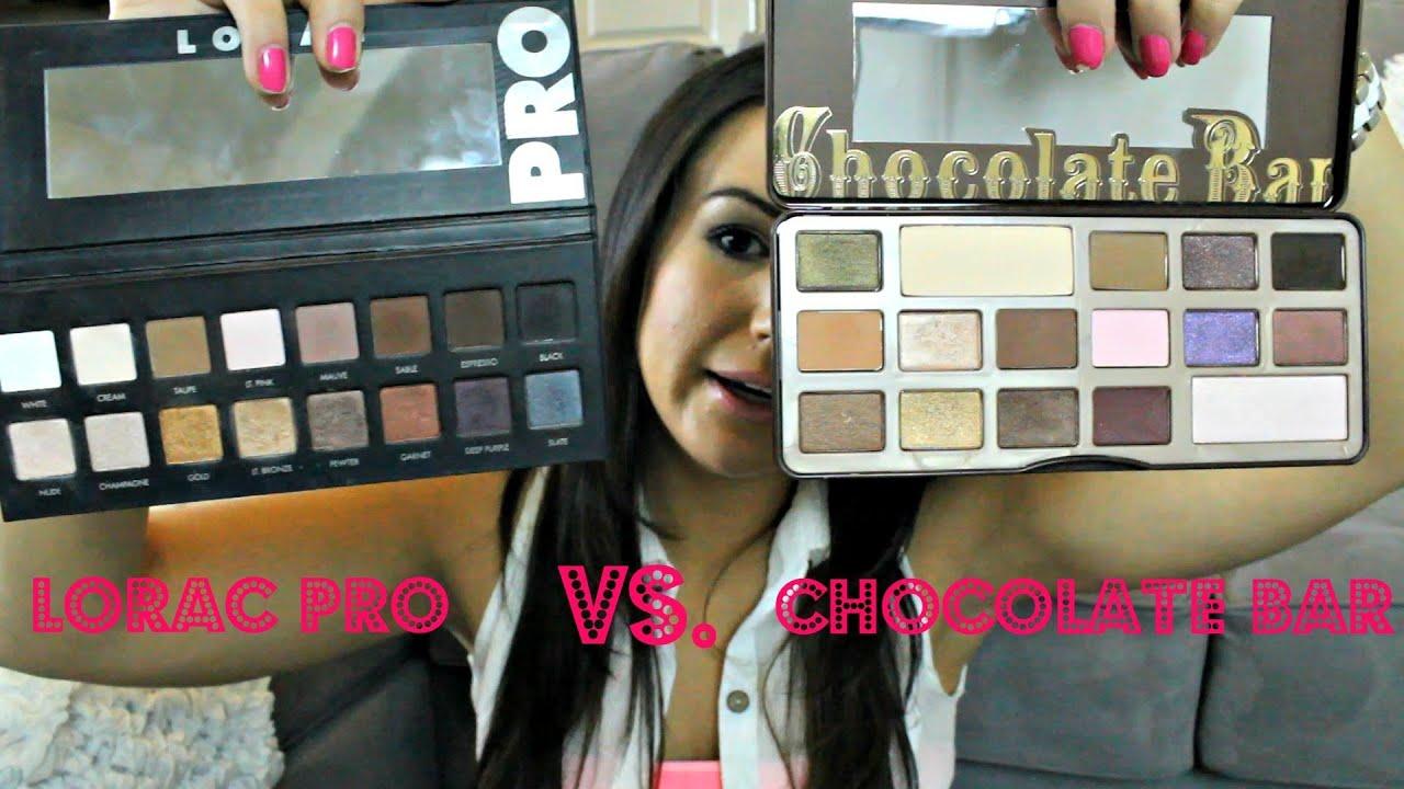 Lorac Pro Vs Chocolate Bar