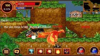 Ninja School Online : #ongchum sv shuriken úp lên 100 và sử dụng skill 10x phê phê