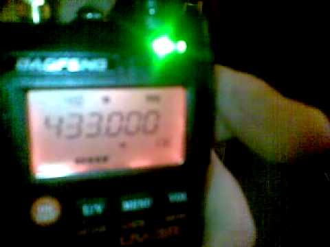 BAOFENG UV-3R DUAL BAND VHF / UHF HAND HELD TEST