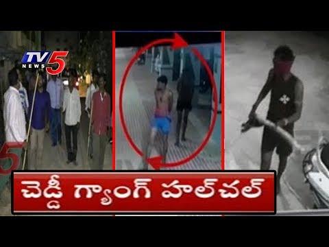 కలకలం రేపుతున్న చెడ్డి గ్యాంగ్..! | Cheddi gang Hulchul In Sangareddy Dist | TV5 News