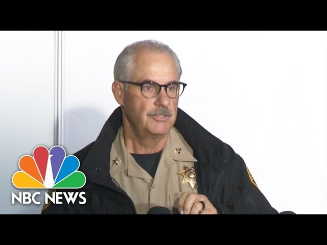 Sheriff Phil Johnston: California Gunman's Wife Found Dead In Their Home | NBC News