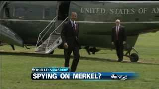 WEBCAST: Is the NSA spying on Angela Merkel?  10/24/13