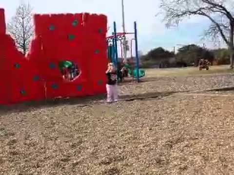 Kate At The Playground #2, 2.15.14 video