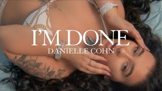 cover album I'm Done - Danielle Cohn