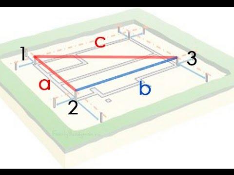 8.  Как легко разметить фундамент