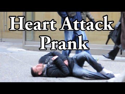Heart Attack Prank In Public - Social Experiment Pranks video