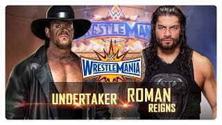 WWE 2K16 - Undertaker vs Roman Reigns