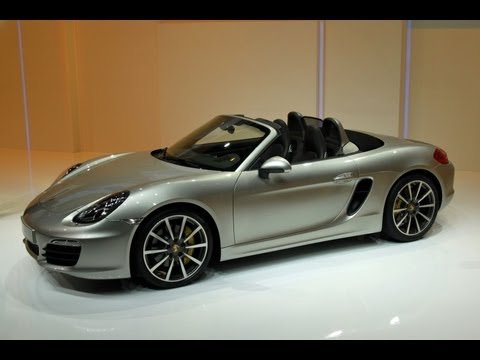 2013 Porsche Boxster S - 2012 Geneva Auto Show